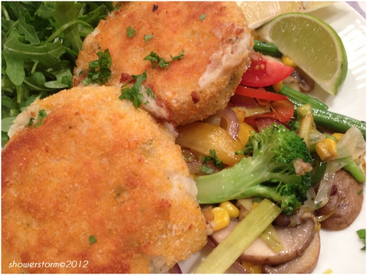 fishon veggies