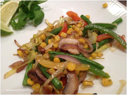 stirfried veggies