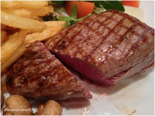 amazing steak