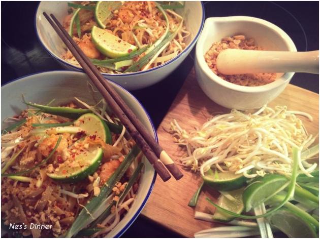 nes's Pad Thai noodles