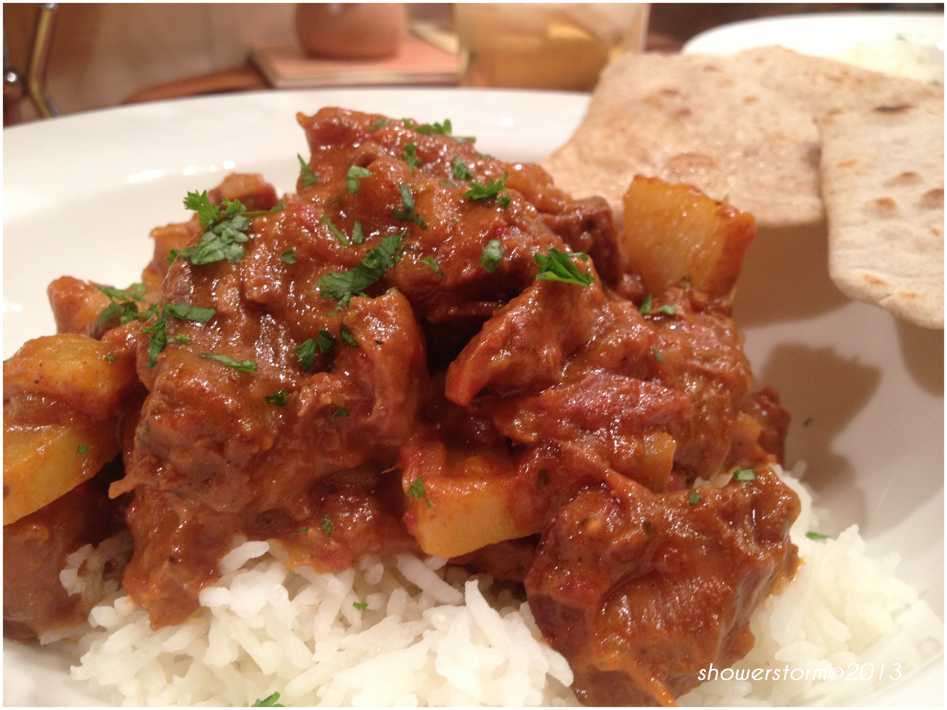 Goat Curry..
