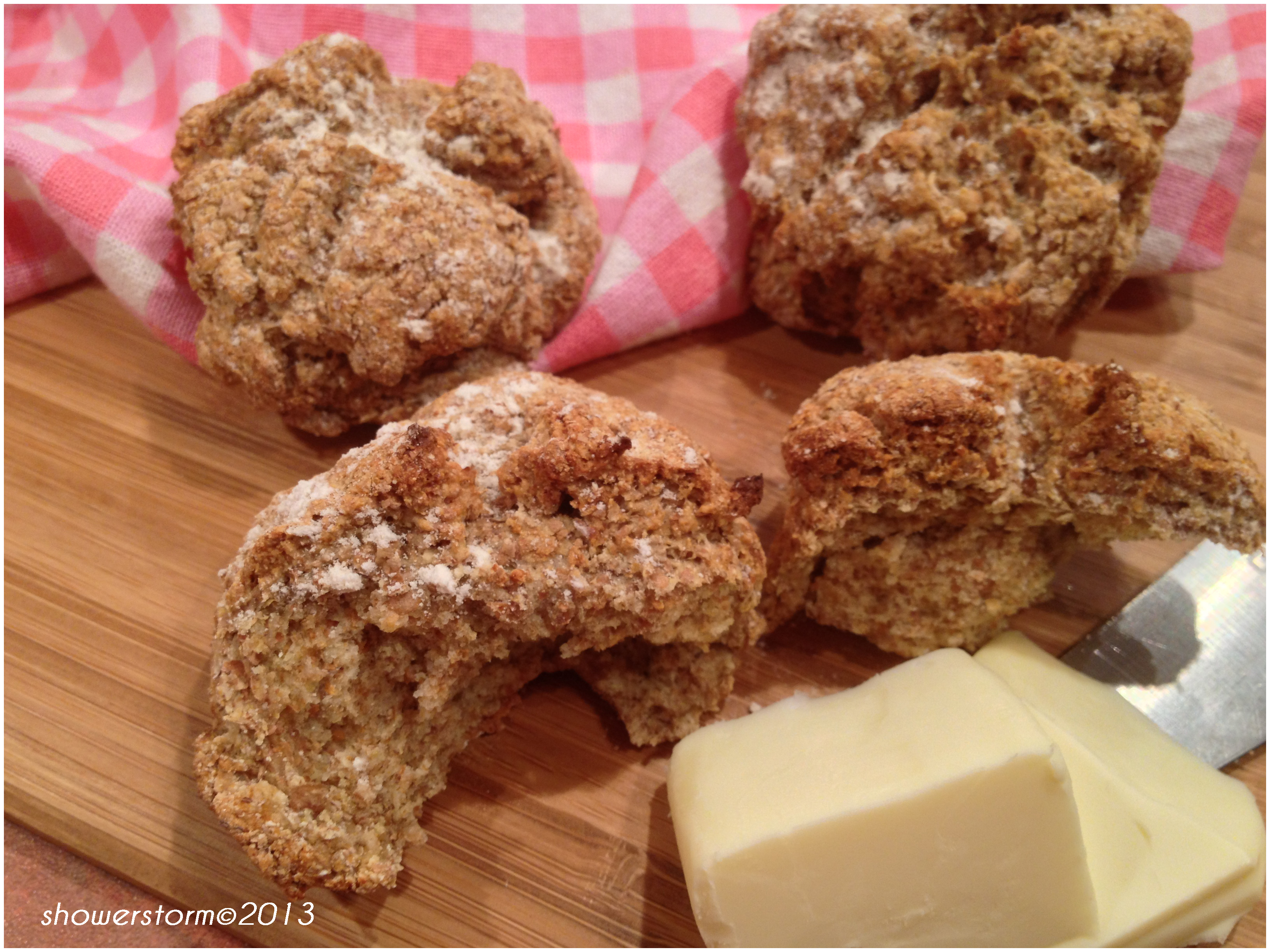 Irish soda bread rolls. | 5 kinds of Rice