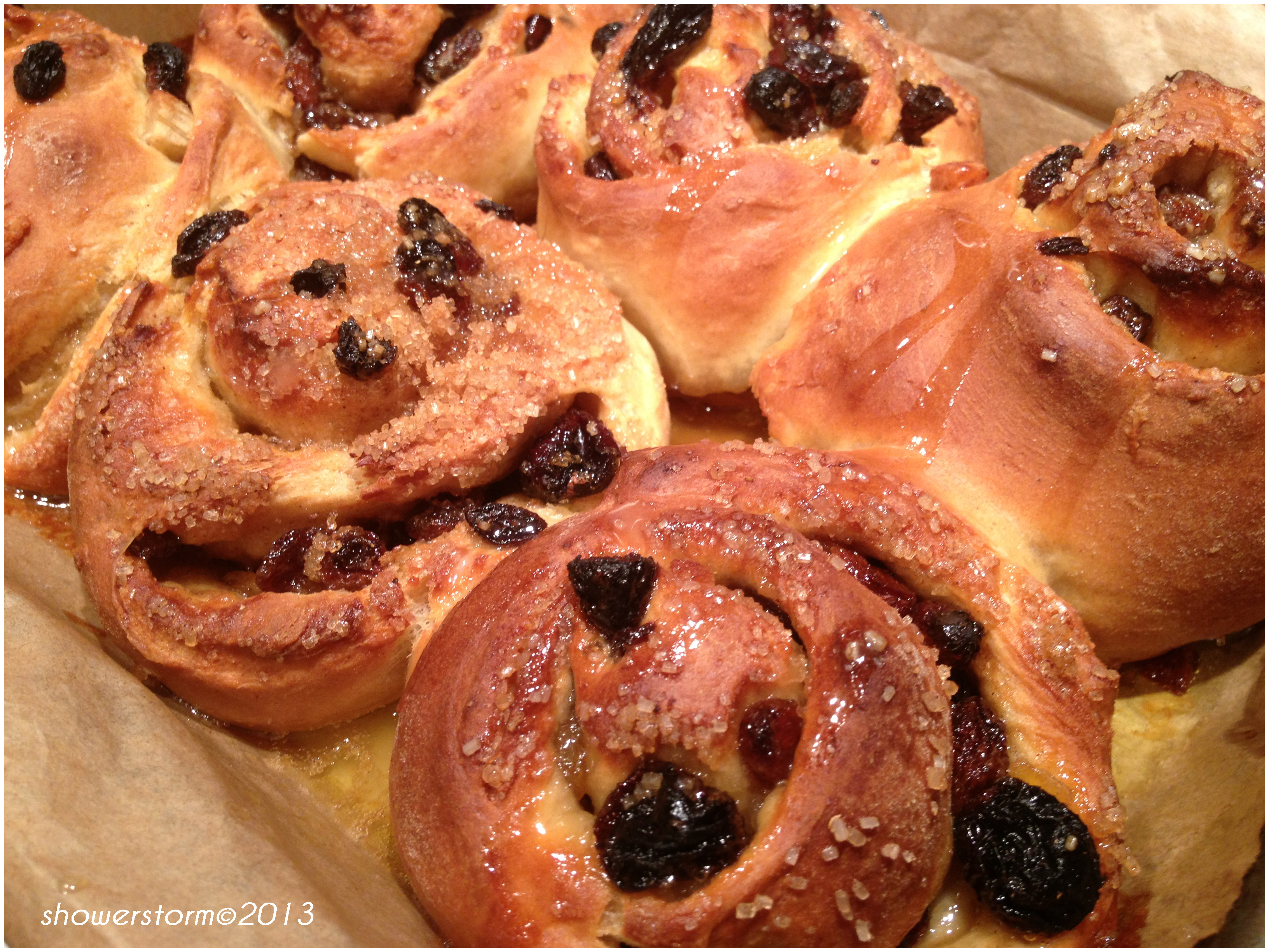 Chelsea buns | 5 kinds of Rice
