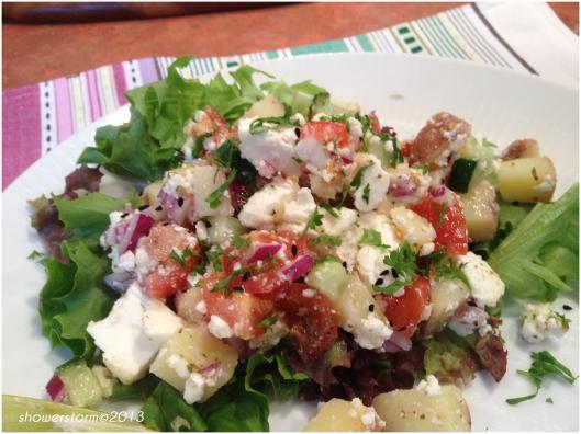 left over salad