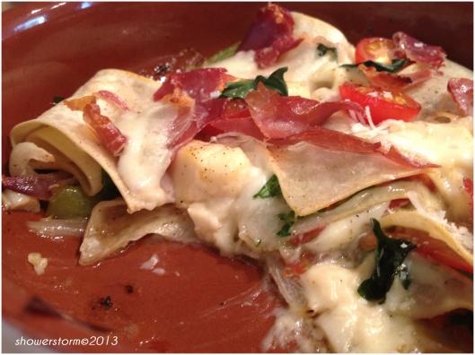 lasagne bake