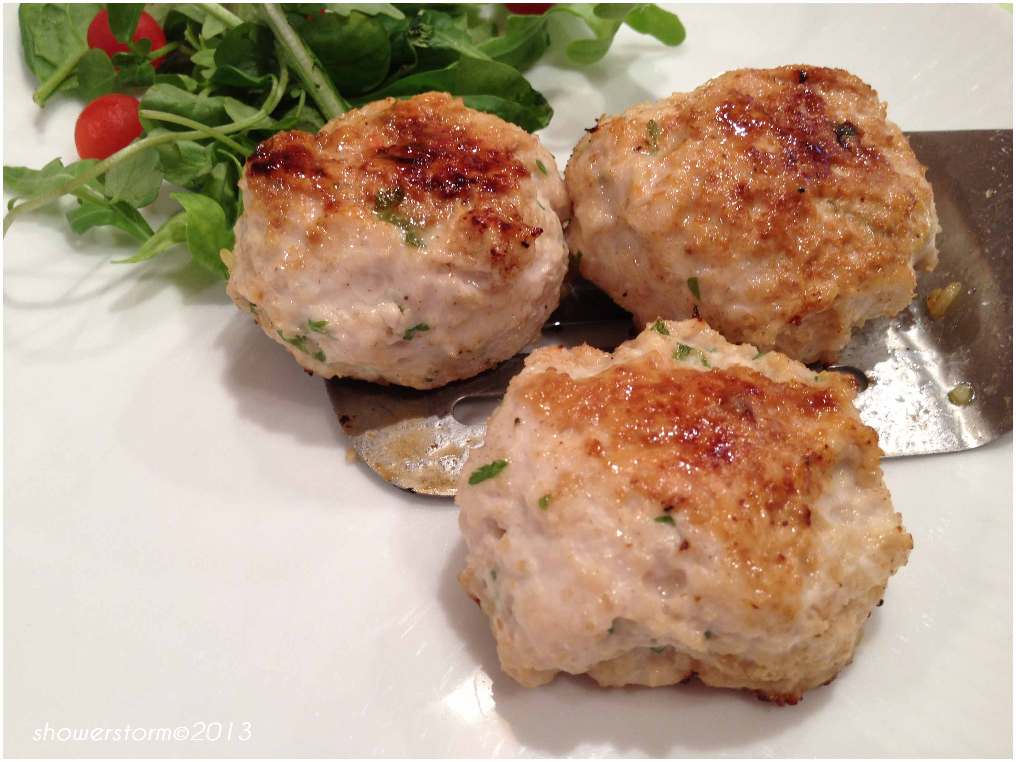 Turkey patties with eddoe and leftovers. | 5 kinds of Rice