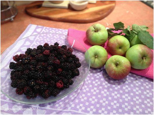 blackberry apples