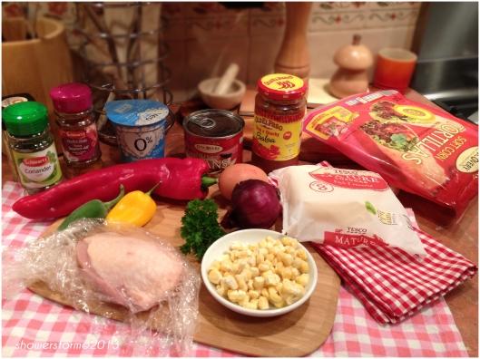 chick bake prep