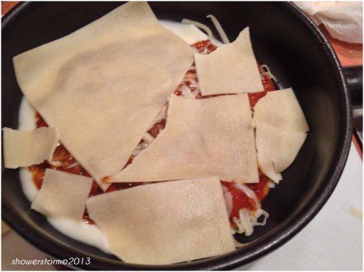 lasagne sheet