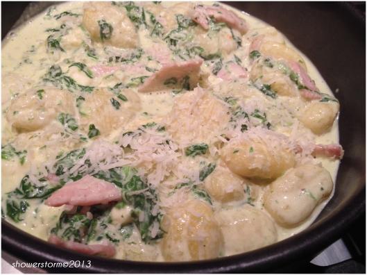 add parmesan
