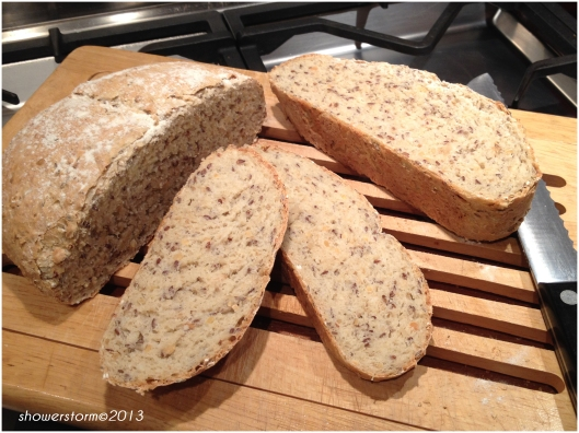 linseed and oat bread