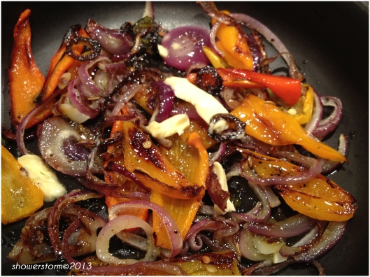 caramelize veg