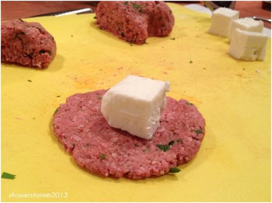 feta in meat