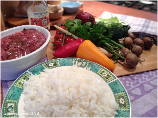 sweetchilli liver prep