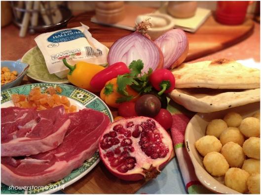 lamb naanwich prep