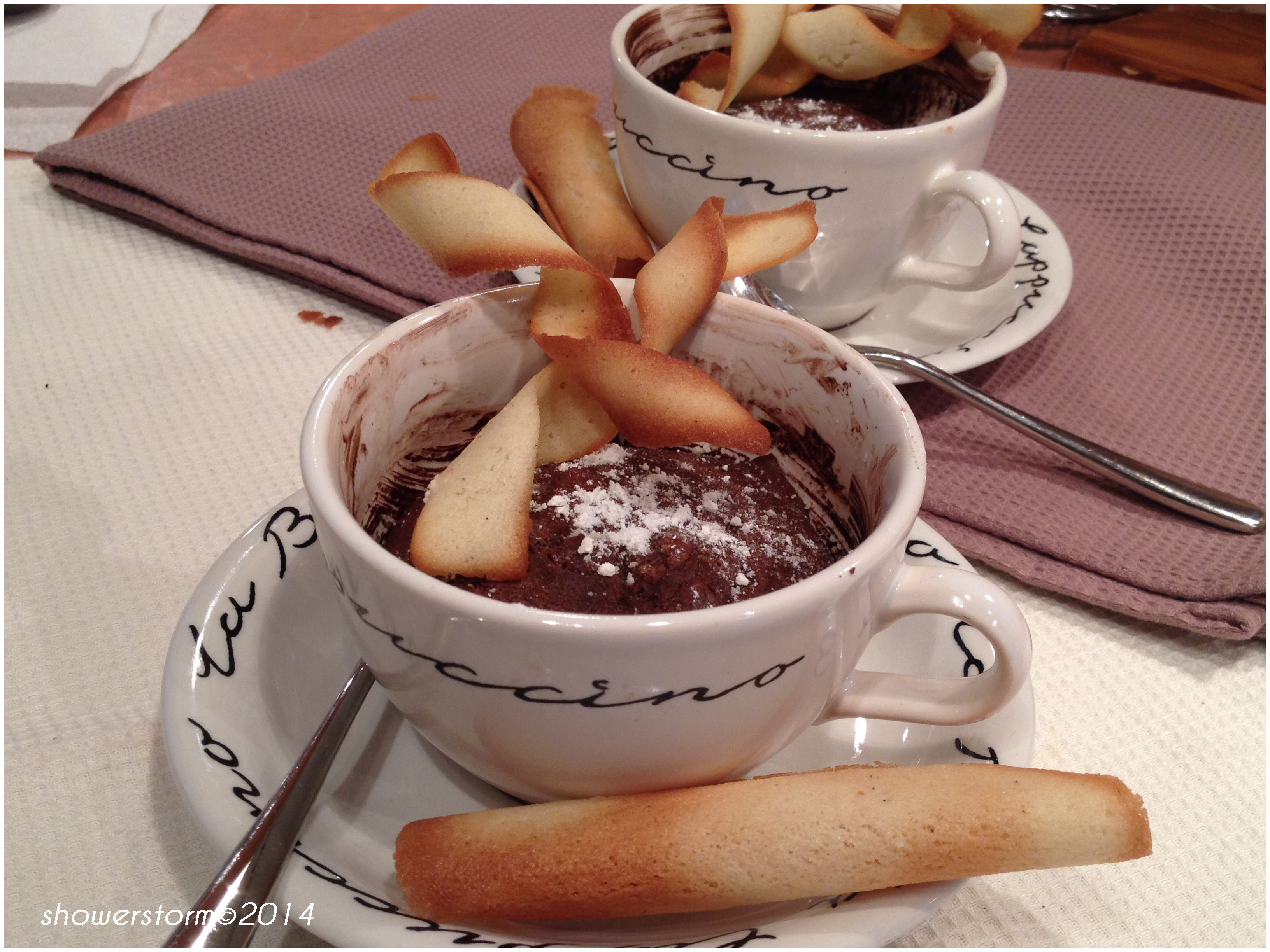 how to make melt in the middle chocolate pudding