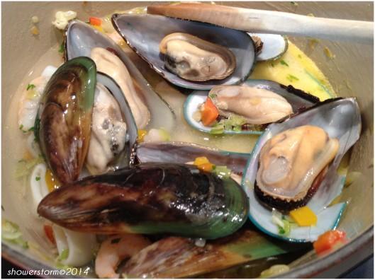 add mussels